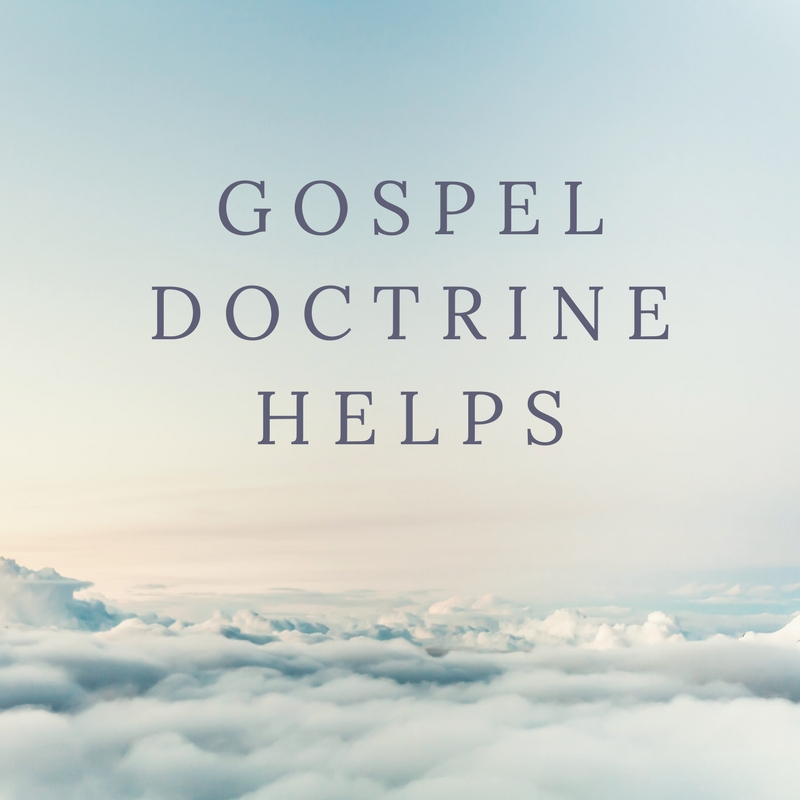 gospel doctrine helps
