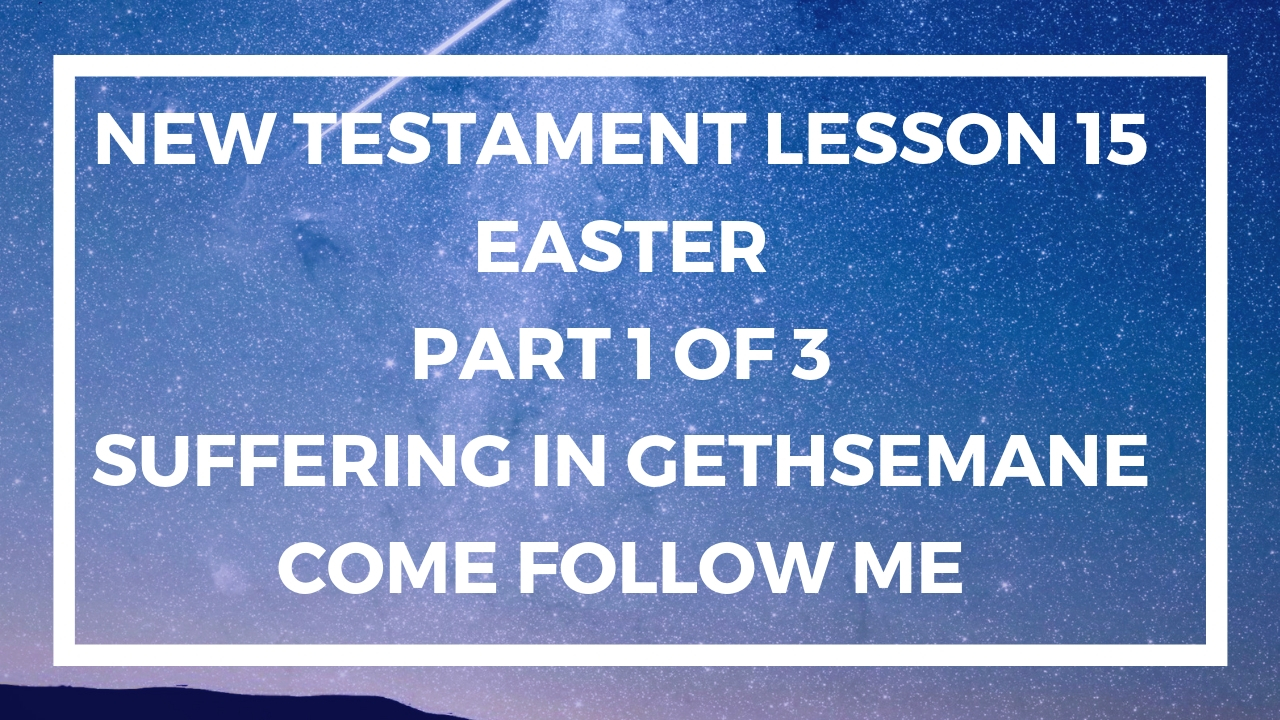 New Testament Lesson 15