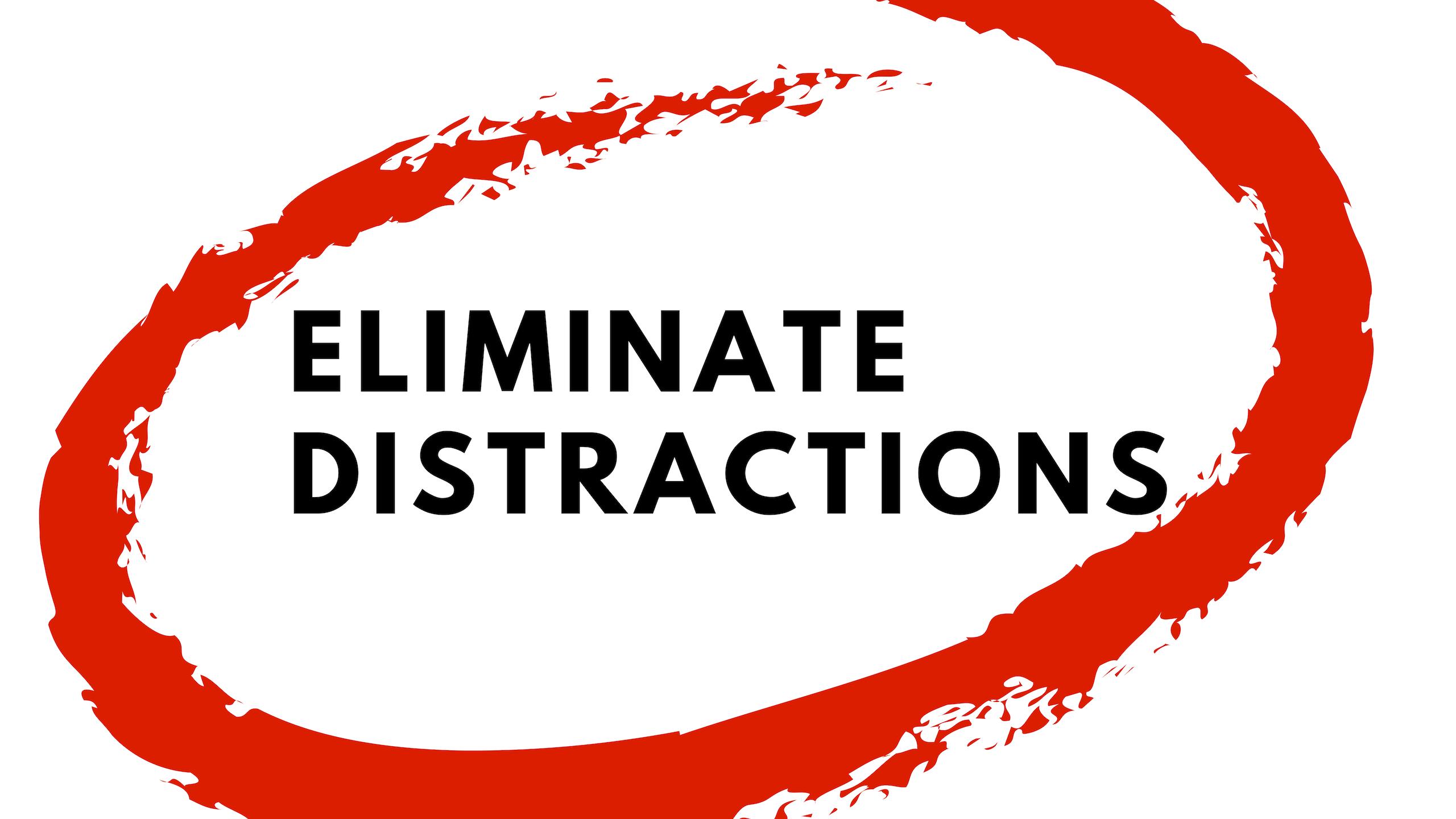 Eliminate Distractions | Gospel Doctrine Helps